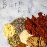 spices from the recipe.